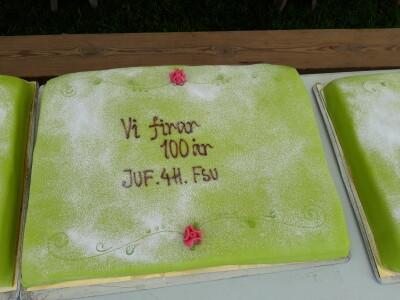 100 år tårta