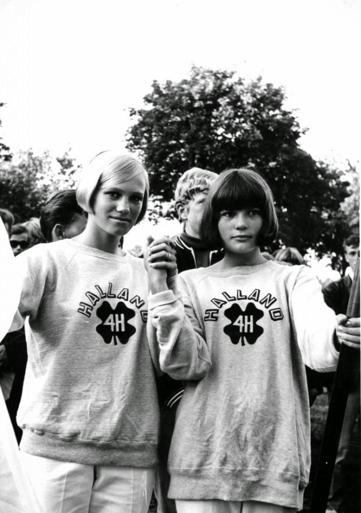 Britt Axelsson och jag