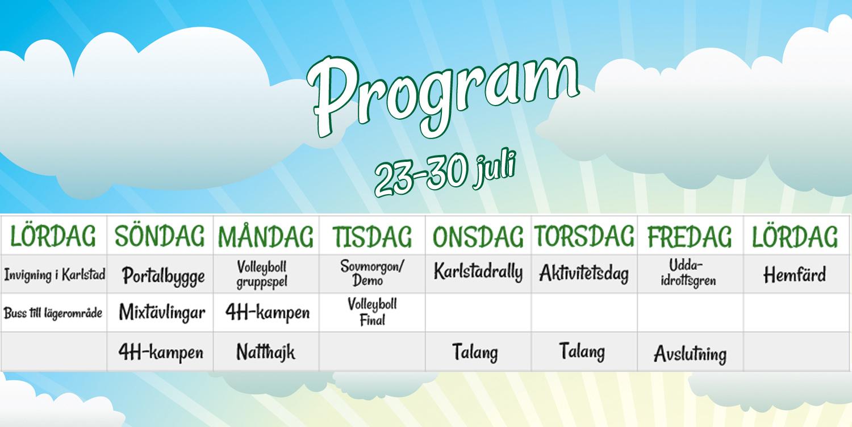 Program hemsida