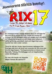 Rix17 flyer