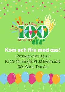100år firande lördagen